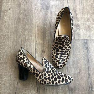 Sesto Meucci Mystee Leopard Slip On Heel 11